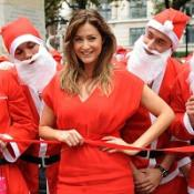 Lisa Snowdon joins Santa fun run
