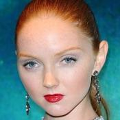 Lily Cole's romance is shaping up well