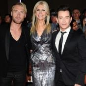 Ronan Keating, his wife Yvonne and Stephen Gately