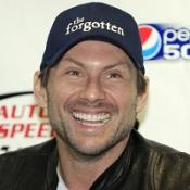 Christian Slater was impressed by the performance of the dog