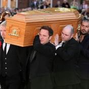 Emotional tribute at Gately funeral