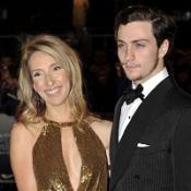 Sam Taylor-Wood arrived with Aaron Johnson for The Times BFI 53rd London Film Festival