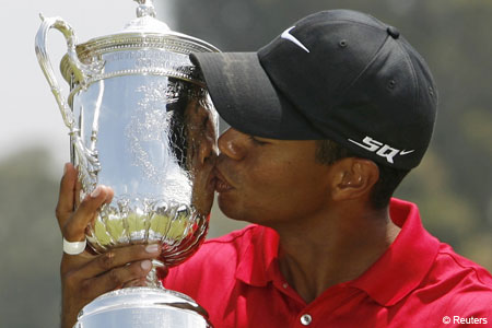 Someting to celebrate: Tiger Woods is sports first billion dollar man