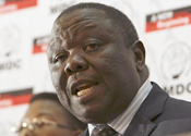 The UN expert had been invited by Morgan Tsvangirai