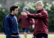 Wenger and Fabregas