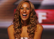 Leona Lewis on the X-Factor