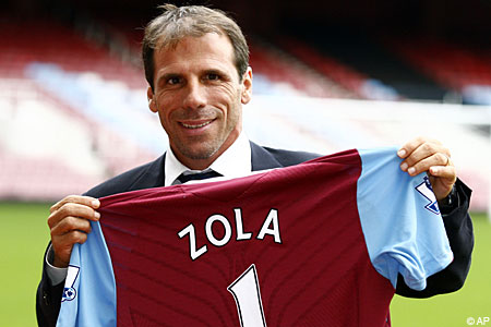 Julian Dicks has hailed Zola for the work he has done at Upton Park