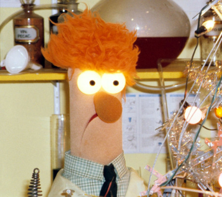 Clampdown: Pupils at one US school have been banned from imitating Beaker from the Muppet Show