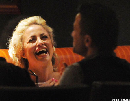 Chantelle Houghton is amused by Peter Andre