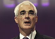 Alistair Darling is under intense pressure to bring down the deficit