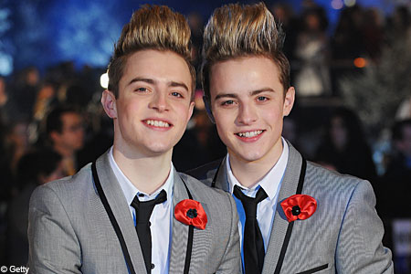John and Edward feel guilty about X Factor win