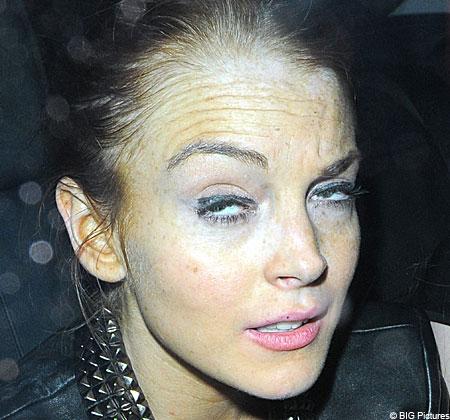 Not me says Lindsay Lohan