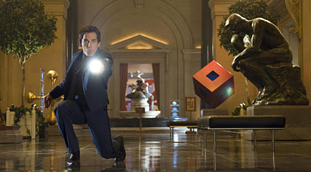 Ben Stiller is back in uniform as the security guard in Night At The Museum 2