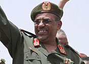 Al-Bashir has been charged with war crimes