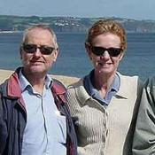 Paul and Rachel Chandler, from Tunbridge Wells, Kent,  are being held by pirates