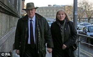 Victors: Benjamin and Sharon Vogelenzang at Liverpool Magistrates Court