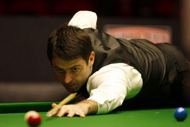 England snooker star Ronnie O'Sullivan