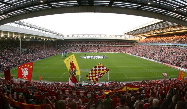 Anfield is in the running to host a 2018 World Cup game