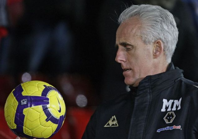 Mick McCarthy made ten changes to his Wolves side