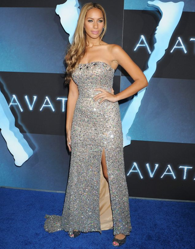 Leona Lewis attends the Los Angeles premiere of Avatar at Grauman's Chinese Theatre