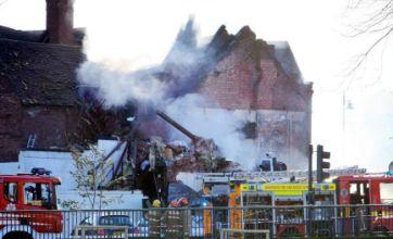 12 are hurt as explosion wrecks Shrewsbury flats