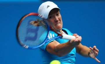 Henin digs deep to battle through