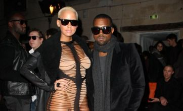 Dare to wear? Kanye West's girlfriend Amber Rose