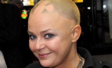 Gail Porter's hair grows back after romps with new toyboy lover