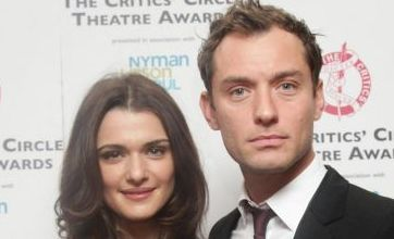 Rachel Weisz and Jude Law win over critics at Theatre Awards