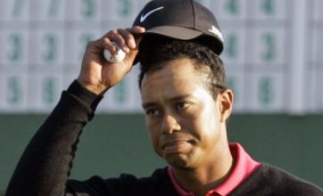 Tiger Woods reunited with wife Elin Nordegren and children