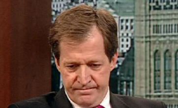 Alastair Campbell breaks down on TV