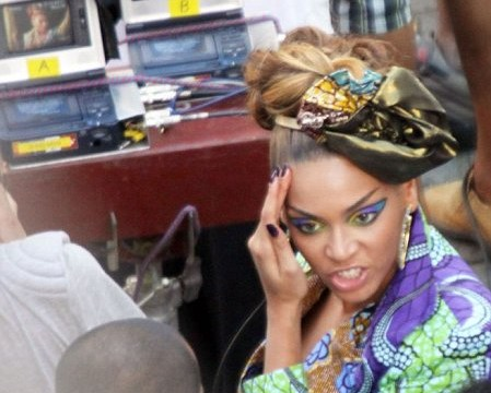 Beyonce and Alicia Keys shoot new video in Rio