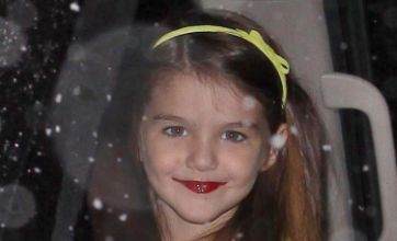 Katie Holmes criticised for letting Suri Cruise wear lipstick