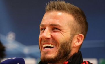 Beckham: No Fergie scores to settle