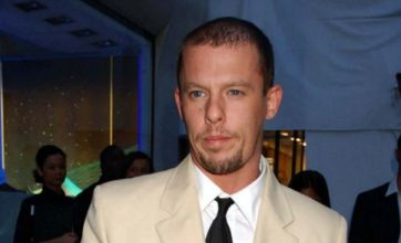 Alexander McQueen hanged himself in wardrobe
