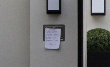 Simon Cowell and Mezhgan Hussainy crave privacy at his LA home