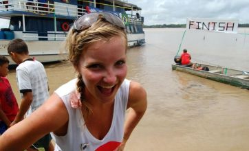 Blue Peter's Helen Skelton kayaks 2,000 miles along Amazon