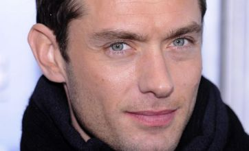 Jude Law meets his five-month old daughter for first time