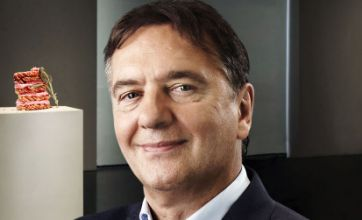Raymond Blanc has broken his leg after falling down stairs