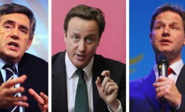 Public to quiz David Cameron and Gordon Brown in TV debates