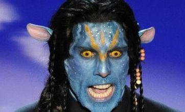 Oscars 2010: Ben Stiller dresses up as Avatar Na'Vi
