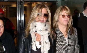 Gerard Butler and Jennifer Aniston arrive in London… separately