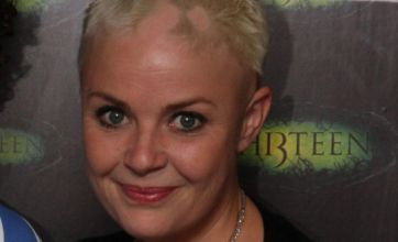 Gail Porter posts Twitter photos showing her hair is on its way back