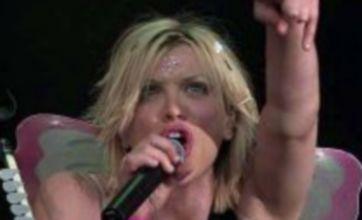 Courtney Love posts mobile number online