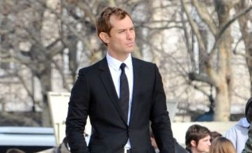Jude Law films scenes with Guy Ritchie for Christian Dior advert