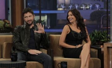 Gerard Butler exposed by Sofia Vergara on Jay Leno for owing money