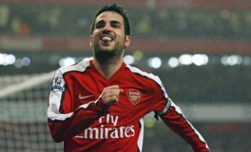 Arsene Wenger pins his hopes on fit and firing Cesc Fabregas