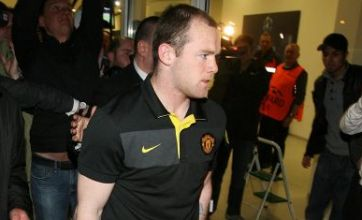 Wayne Rooney injury sparks World Cup fears as he leaves on crutches