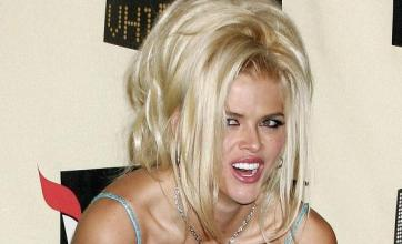 Anna Nicole Smith dresses on show