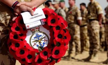 Fallen British soldier named